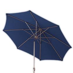 Patio Umbrella - Compact Half Canopy Patio Umbrella