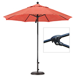 wind resistant fiberglass umbrellas