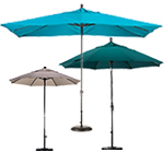 patio umbrellas by size